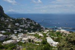 Capri, morze, wybrzeże, niebo, cypel zdjęcia stock