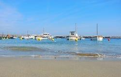 Capri, Nápoles, Italia El puerto del pueblo Marina Grande Imagenes de archivo