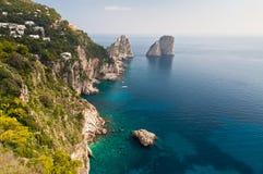 Capri, Naples, Włochy Fotografia Stock