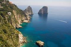 Capri panorama Stock Image