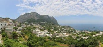 Capri-Panorama Lizenzfreie Stockfotos