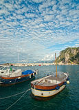 Capri port Stock Image