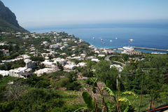 Capri port Royalty Free Stock Images