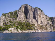 Capri rocks Stock Photography