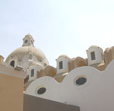Capri rooftops Stock Photography