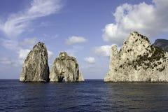 Capri's faraglioni Royalty Free Stock Image