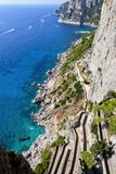 Capri Scala Fenicia photographie stock libre de droits