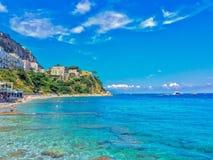 Capri. Splendida isola della Campania Stock Images