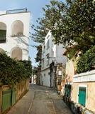 Capri street. Stock Photo