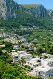 Capri town view Royalty Free Stock Photos