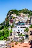 Capri town view Stock Photo