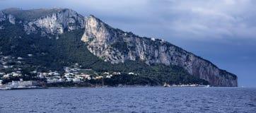 Capri. An unusual image of the arrival in Capri Royalty Free Stock Image