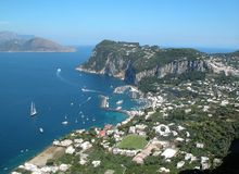 Capri Veiw Royalty Free Stock Images