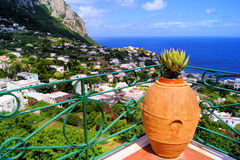 Capri view Stock Image