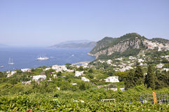 Capri  view Stock Images