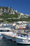 Capri - view of port Royalty Free Stock Photo