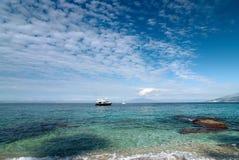 Capri. Włochy. Fotografia Stock