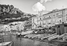 Capri Waterfront, Italy Stock Photography