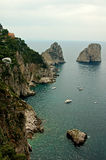 capri widok obraz royalty free