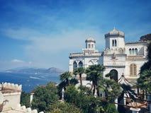 Capri-Wohnsitz lizenzfreie stockfotos