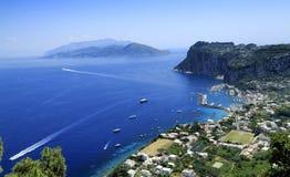 Capri wyspa Obraz Royalty Free