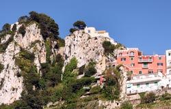 Capri wyspa - Italia Zdjęcie Stock