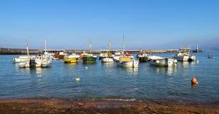 Capri wyspa - Marina Grande Obrazy Royalty Free
