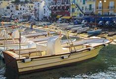 Capri wyspa - Marina Grande Obrazy Stock