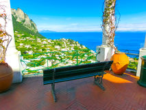 Capri wyspa, Włochy, blisko Naples Obrazy Stock