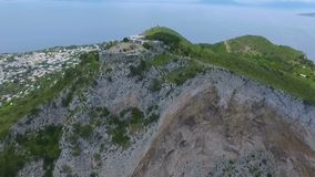 Capri wyspy, Włochy anteny wideo zdjęcie wideo