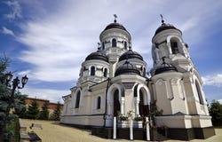Capriana kloster - Moldavien Royaltyfria Foton