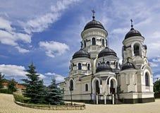 Capriana kloster, Moldavien Arkivbilder