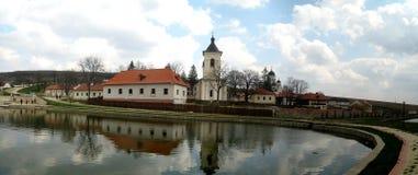 Capriana-Kloster, Museum Lizenzfreie Stockfotografie