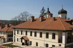Capriana monastery Stock Photo