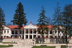 Capriana monastery, main building Stock Image