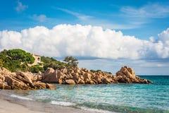 Capriccioli beach in Sardinia, Italy. Capriccioli beach near Arzachena in Olbia-Tempio province, Sardinia, Italy stock image