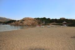 Capriccioli plaża Zdjęcie Stock