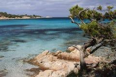 Capriccioli strand Arkivbilder