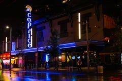 Caprice Night Club, Vancouver, B C stock afbeeldingen