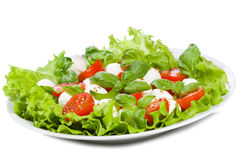 Caprice salad Stock Photos