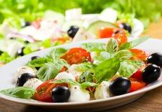 Caprice salad Stock Photo