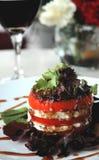 Caprice Salad Royalty Free Stock Photo