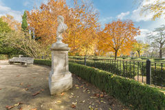 Capricho garden, Madrid, Spain. Stock Image