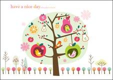 Capricieuze fruitboom Stock Fotografie