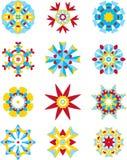 Capricieuze ornamenteninzameling Royalty-vrije Stock Afbeelding