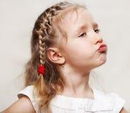 Capricious child Royalty Free Stock Image