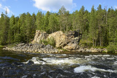 Capricious river Royalty Free Stock Photo