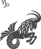 Capricorn. Signs of the zodiac - Capricorn vector illustration