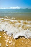 Capricorn Coast Wave. A wave and surf at the Capricorn Coast, Central Queensland, Australia stock photography