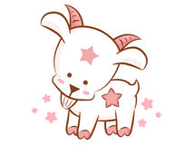 Capricorn Constellation Character Design. Zodiac Character Desig Stock Images